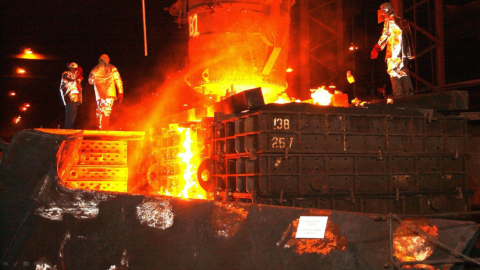 A Leading Steel Maker Optimizes and Automates its Integrated Steel Plant